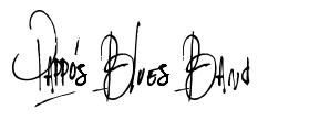 Pappo's Blues Band font