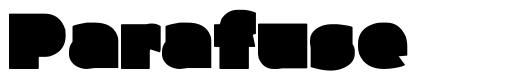 Parafuse font