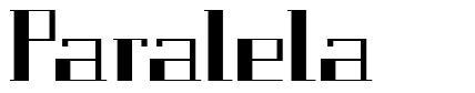Paralela font