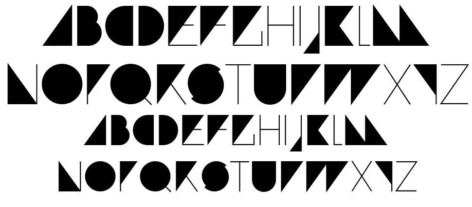 Paranoid font