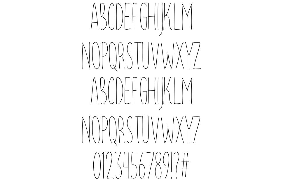 Parsley Path font