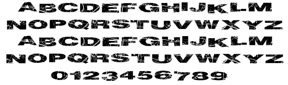 Particle Physics font