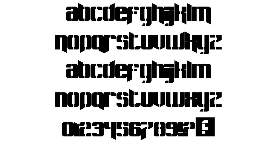Pastcorps font
