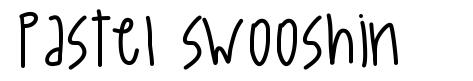 Pastel Swooshin шрифт