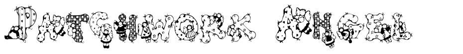Patchwork Angel 字形