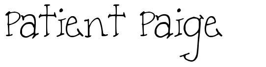 Patient Paige