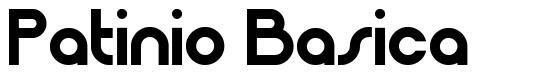 Patinio Basica font