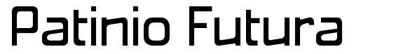 Patinio Futura font
