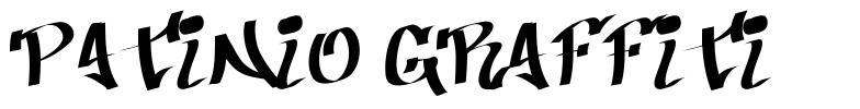 Patinio Graffiti font