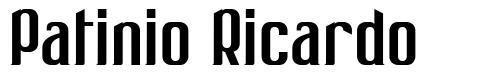 Patinio Ricardo font