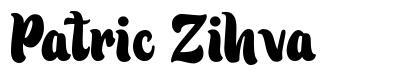 Patric Zihva 字形