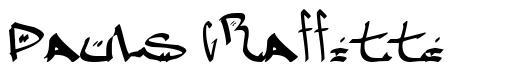 Pauls Graffitti font