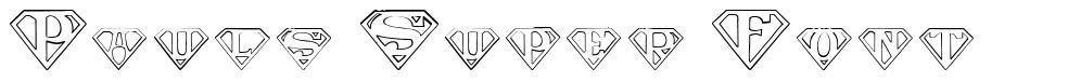 Pauls Super Font