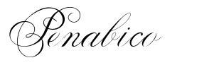 Penabico 字形