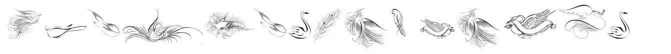 Penmanship Birds