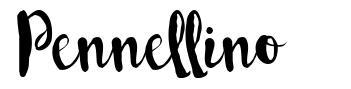 Pennellino font