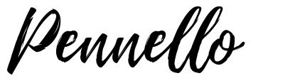 Pennello font