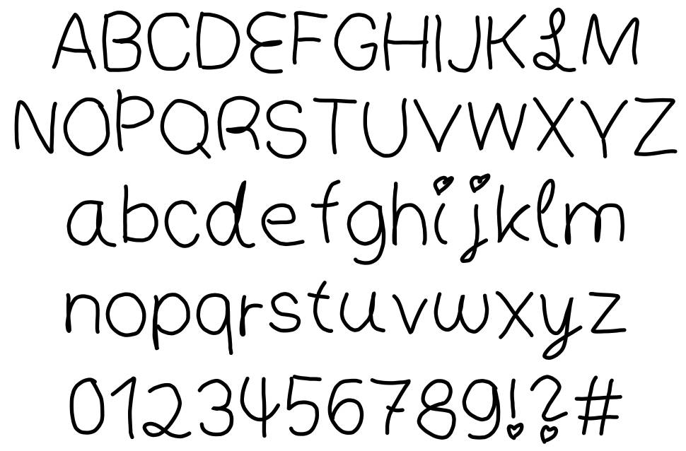 People font