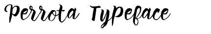 Perrota Typeface