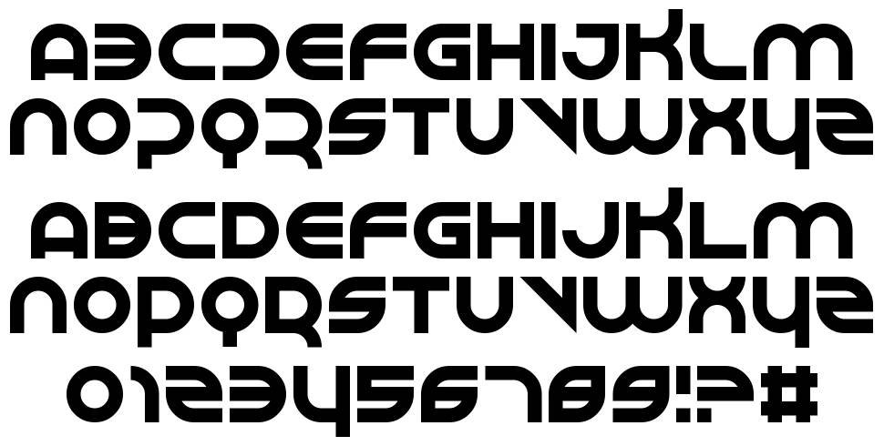 Perspire font