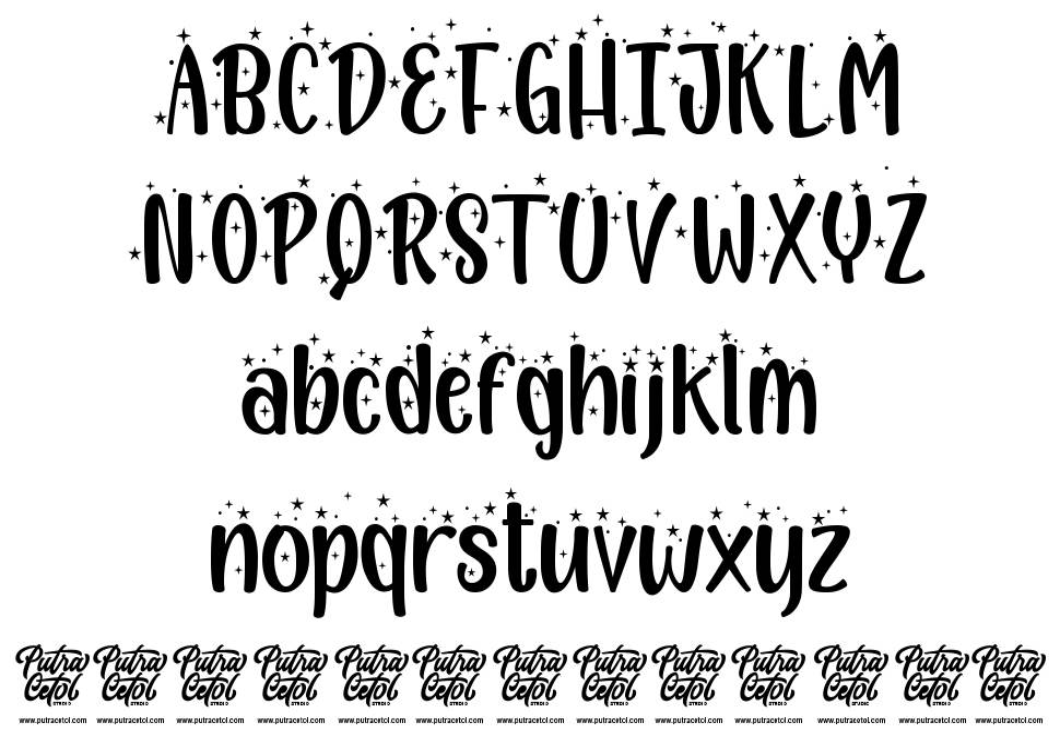 Pesta Tahun Baru font