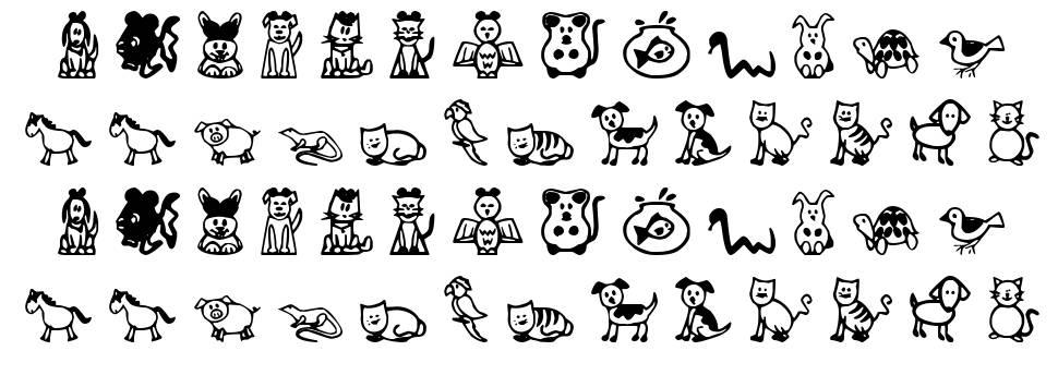 Pet Animals font