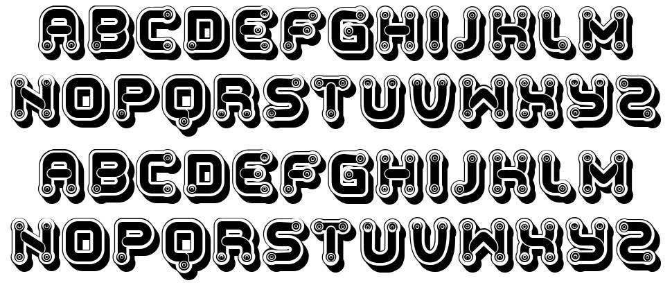 Peureux 字形