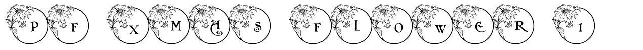 PF Xmas Flower 1