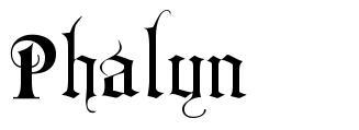Phalyn font