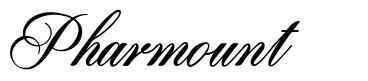 Pharmount font