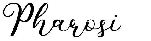 Pharosi フォント