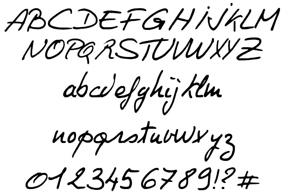Philing font