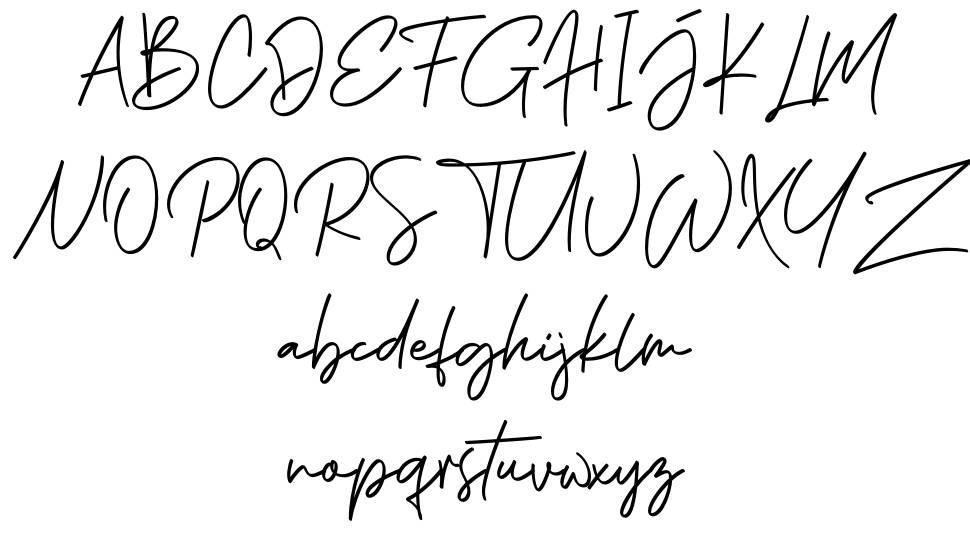 Phillips Muler Signature font