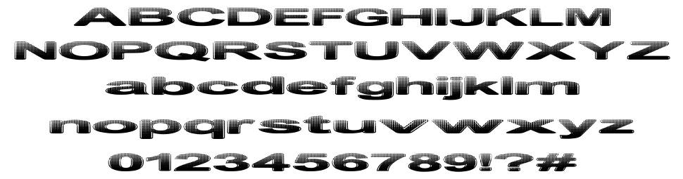 Philtered Phont font
