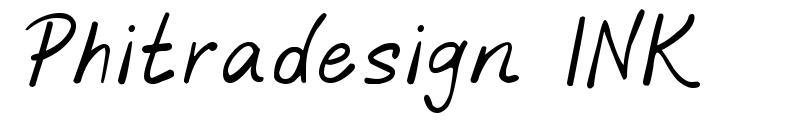 Phitradesign INK font