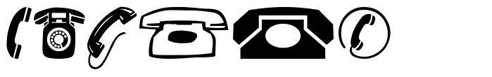 Phones font