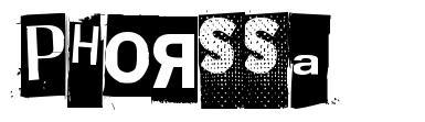 Phorssa font