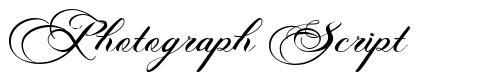 Photograph Script fuente