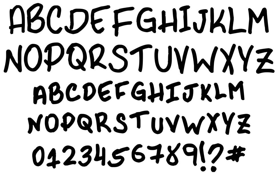 PHR Scrypt II font