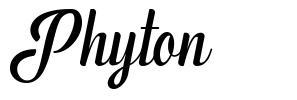 Phyton font