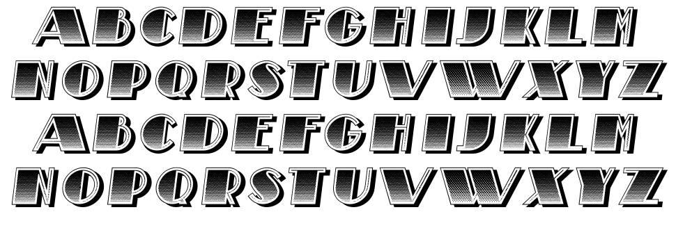 Piantato font