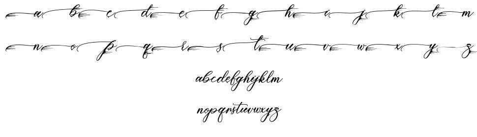 Piasley font