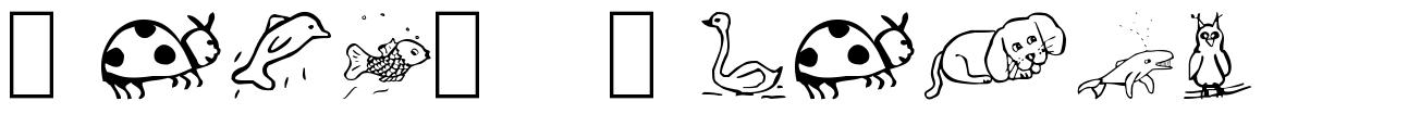 Pict' Animos font