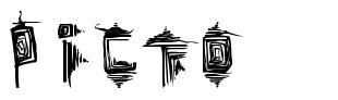 Picto font
