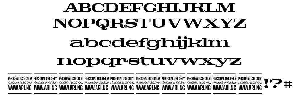 Pigeon font