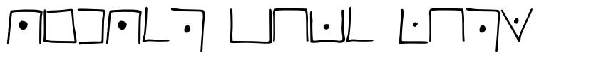 PigPen Code Font