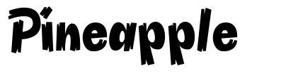 Pineapple font