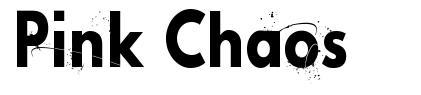 Pink Chaos font