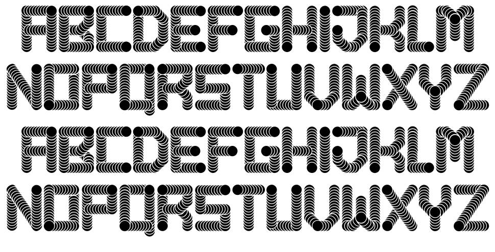 Pipes font