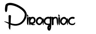 Piragniac font